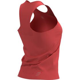 Compressport Performance Singlet Women, rood